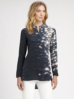 Akris - Reflecting Sun Silk Tunic