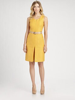 Akris - Belted Dress