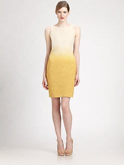 Akris - Boucle Sheath Dress
