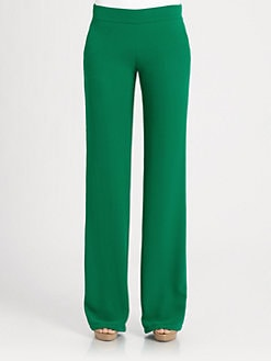 Akris - Silk Georgette Pants