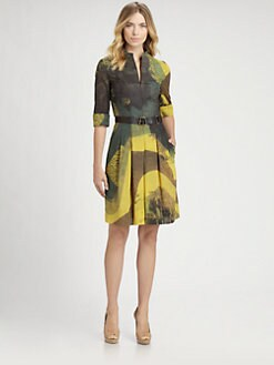 Akris - Garden Print Dress