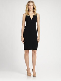 Akris - Zip-Front Wool Dress