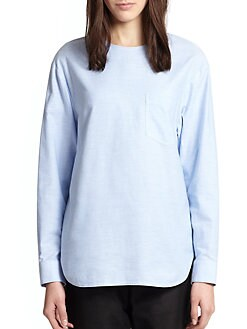 Alexander Wang - Poplin Patch-Pocket Shirt