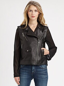 Ashley B - Convertible Sahara Biker Jacket