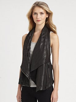 Ashley B - Convertible Chiffon Underlay Vest
