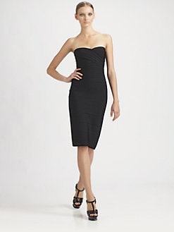 Herve Leger - Strapless Essential Dress