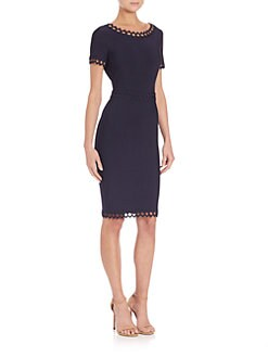 Herve Leger - Diamond Detail Dress
