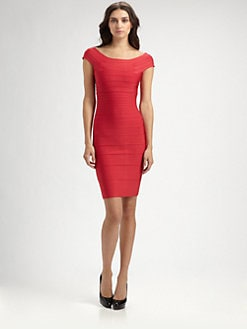 Herve Leger - Poppy Bandage Dress