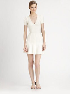 Herve Leger - Cold-Shoulder Bandage Dress