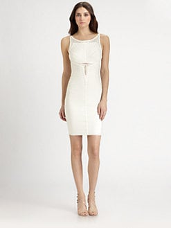 Herve Leger - Detail Bandage Dress