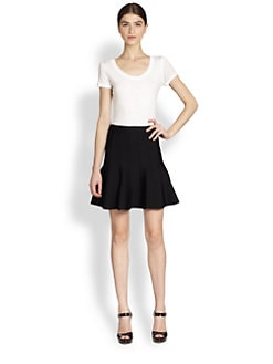 Herve Leger - Flared Sabine Skirt