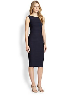 Herve Leger - Scoopback Bandage Dress
