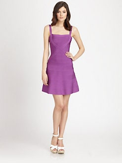 Herve Leger - Flared Bandage Dress