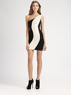 Herve Leger - Graphic Bandage Dress