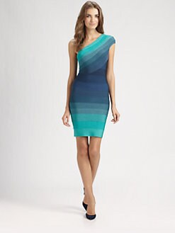 Herve Leger - Ombre Bandage Dress