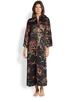 Natori - Zip-Up Caftan