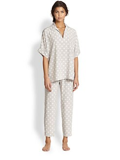 Natori - Polka Dot Tunic Pajama Set