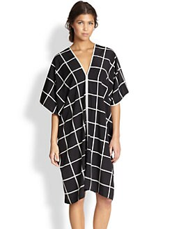 Natori - Windowpane Caftan