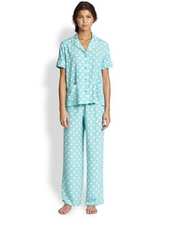 Natori - Polka Dot Short Sleeve Pajamas