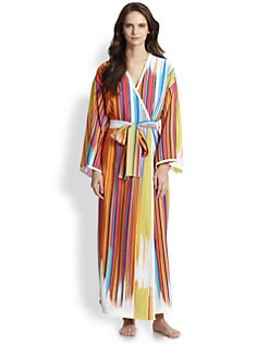 Natori - Loren Striped Robe