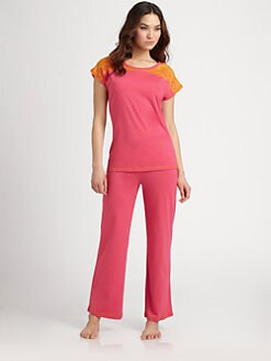 Josie - Lace-Accented Pajamas