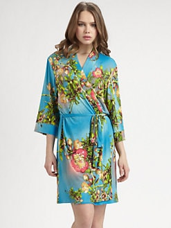 Josie - Paradise Found Short Robe