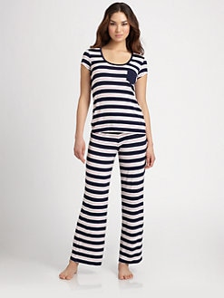 Josie - Indo Stripe Pajama Set