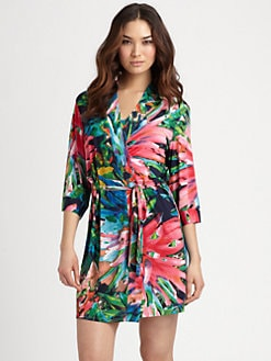 Josie - Sampaguita Short Robe