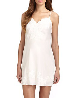Natori - Kasalan Embroidered Lace Chemise