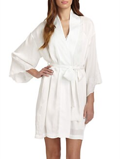 Natori - Kasalan Lace-Trimmed Robe