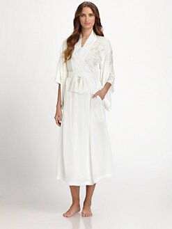 Natori - Kaslan Embroidered Long Robe