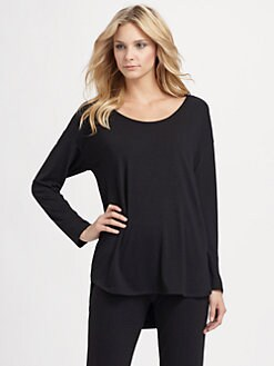 Natori - Jersey Scoopneck Lounge Top