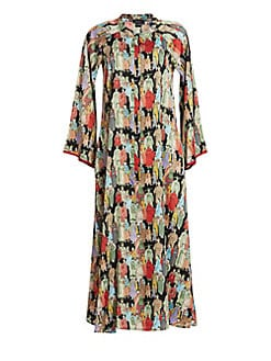 Natori - Dynasty Zip Caftan