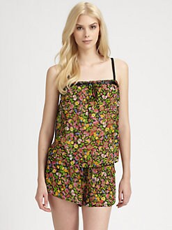 Josie - Interrupted Floral Pajama Set
