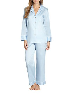 Natori - Cotton Sateen Pajama Set