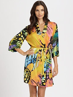 Josie - Gobi Butterfly Bliss Short Robe