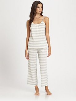 Josie - Mishell Striped Pajama Set