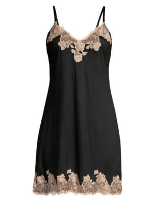 Charlize Lace Embroidered Chemise