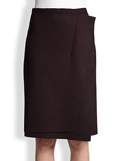 Nina Ricci - Felted Wrap Skirt