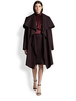 Nina Ricci - Felted Blanket Coat