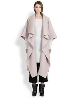 Chloe - Draped Long Coat
