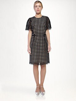 Chloe - Eyelet Dress