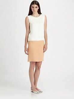 Chloe - Albene Bi-Color Dress