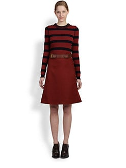 Chloe - Striped Knit Pullover