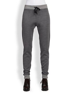 Chloe - Wool-Blend Sweatpants