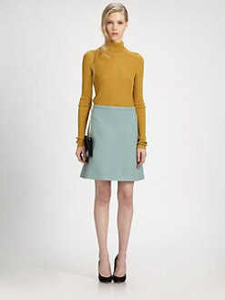 Chloe - Silk-Blend Turtleneck