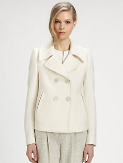 Chloe - Wool Peacoat
