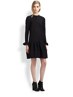 Chloe - Dahlia Jacquard Dress