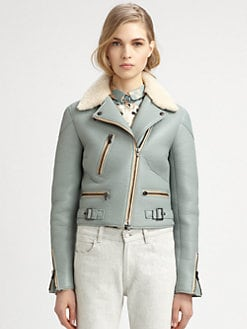 Chloe - Leather Biker Jacket