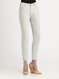 Chloe - Ankle Zipper Jeans